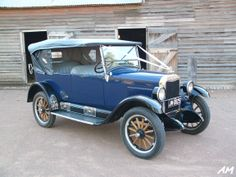 1925 Chevrolet 4 Tourer, brought back to life by my brother.