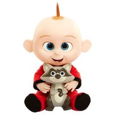 This Disney Incredibles 2 Jack Jack Doll is the perfect accessory for your Incredibles costume. It even lights up and includes Jack Jack's raccoon friend. Jack And Jack, Jack Jack Attack, Disney Incredibles, Disney Pixar, Toddler Toys, Baby Toys, Kids Toys, Top Christmas Toys, Christmas 2019