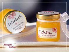 Gastgeschenke - Honig - süße Gastgeschenke zur Hochzeit - ein Designerstück von Margots-Imkerei bei DaWanda