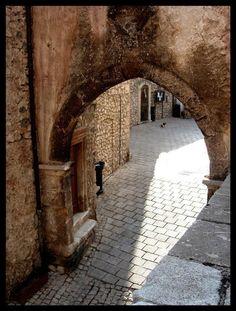 Arch in Abruzzo, Italy