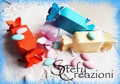 Scatoline Portaconfetti Caramella, by Stefy Creazioni, 0,35 € su misshobby.com