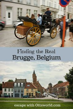 Read how to find the authentic Brugge, Belgium
