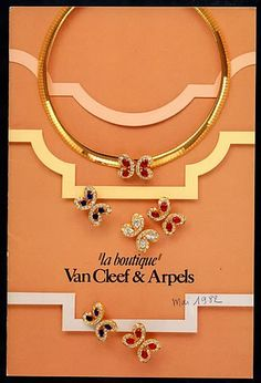 Van Cleef & Arpels (Jewels) 1982 Catalog Jewels & Watches