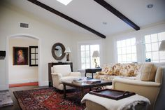Hymettus Project - traditional - living room - san diego - by KADE Restoration