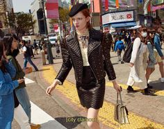 """We are loving Gucci's 2016 Ad Campaign shot and directed by Glen Luchford. A """"Lost In Translation'""""world where models wonder from fashion shops to tea houses all surrounded with t…"""