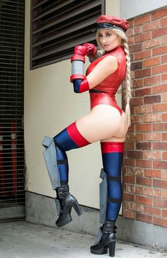 Cosplayer: Holly Wolf. Country: Canada. Cosplay: Bison Cammy from Street Fighter. Event: San Diego ComicCon 2016. Photos by: Carlos G Photography. https://m.facebook.com/HollyTWolf/