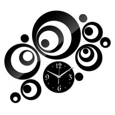 Check it on our site 2017 New Wall Clock Horloge Modern Design Reloj De Pared Large Decorative Digital Watch Living Room 3d Diy Acrylic Mirror just only $6.63 with free shipping worldwide  #clocks Plese click on picture to see our special price for you