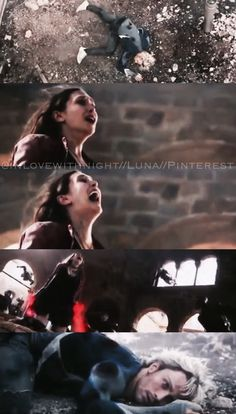 Wanda screams in grief as she senses Pietros death // Wanda and Pietro Maximoff // Avengers // Age of Ultron // Quicksilver // Scarlet Witch
