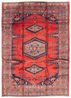 Persian Wiss x Hand-knotted Wool Brown Rug Brown Rug, 9 And 10, Persian, Bohemian Rug, Area Rugs, Wool, Decor, Brown Carpet, Rugs