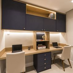 Home Office Furniture Design, Office Table Design, Home Office Table, Home Office Layouts, Home Office Setup, Home Office Space, Office Interior Design, Office Interiors, Study Room Design