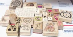 HUGE LOT OF 94 Rubber Stamps BEARS, BABY, ANIMALS, PUNCH, STAMPIN UP WORDS #mixed #RUBBERSTAMP Baby Animals, Punch, Stampin Up, Bears, Stamps, Words, Crafts, Things To Sell, Seals
