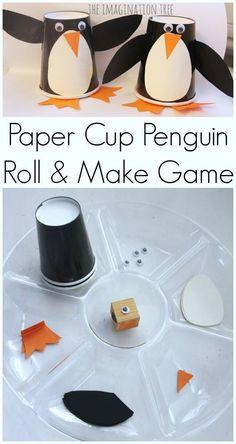 Penguin making game/craft :-)