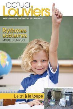 Dossier spécial rythmes scolaires au programme d'Actu@Louviers d'avril et mai à #Louviers