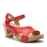 Dansko sandal--I dont know if I could pull off the red though