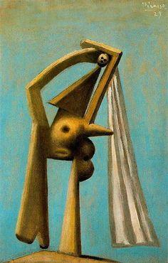 Bather 1929 Pablo Picasso