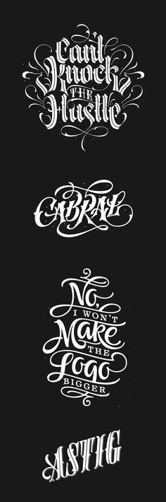 - 2014 Digital Type Compilation byPatrick Cabral