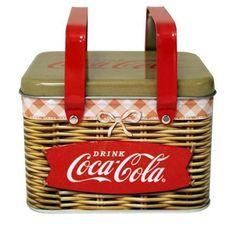Coke Tin Picnic Basket  #Por #MakeTheSwitch #DressYourCase #PortablePower #phonecase #lamp #campinglight #DressYourYard