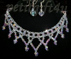 swarovski crystal bridal necklace - Google Search