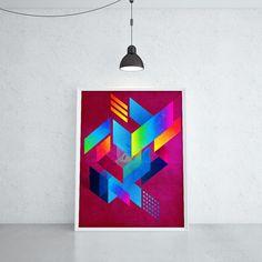 ACHTZIG WOLKEN (YVO ZIZI @ KUBISTIKA Modern cubism Art   by BORIS DRASCHOFF)
