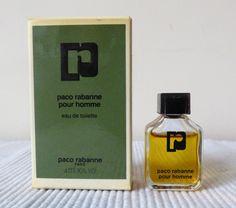 Paco rabanne pour homme : eau de toilette 4 ml avec boîte