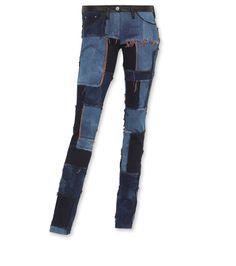 Isabel Marant fancy dark blue jeans (AW2011) marked down 60%