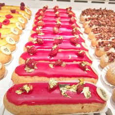 Pink and Gold Eclair from Paris, France