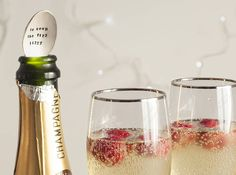 Silver Plated Champagne Bottle Spoon from notonthehighstreet.com