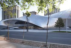 China Wood Sculpture Museum by MAD