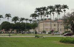 Old main building at Federal University Vicosa