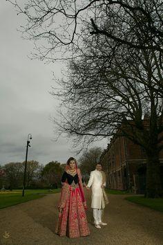 Beautiful Marine on her wedding day. www.khushstudio.co.uk