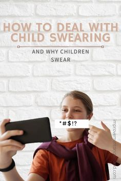 Child swearing is something as if we saw an adult, who sucks his thumb. It's gross and inappropriate. We want our kids to be good behaved. Three Days To See, Empowering Parents, Parent Group, Love Parents, Older Siblings, Parent Resources, Bad Habits, Beautiful Family, Our Kids