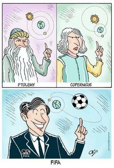El mundial de fútbol de la FIFA bajo mi punto de vista humorístico