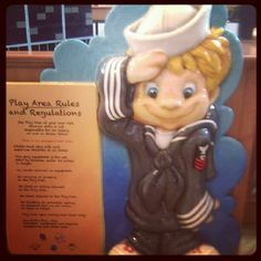 Sailor Cooper outside the new kids play area at @gurneemills mall. - @visitlakecounty