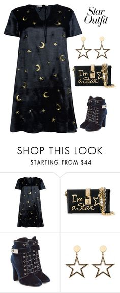 """Untitled #6375"" by im-karla-with-a-k ❤ liked on Polyvore featuring Glamorous, Dolce&Gabbana, Giuseppe Zanotti and StarOutfits"
