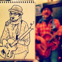 Wonderful Speed Sketches of People in Tokyo by Hama-House