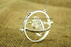 the Harry Potter jewelry TIME TURNER NECKLACE by ruthdreamy @Brittany Hutchinson