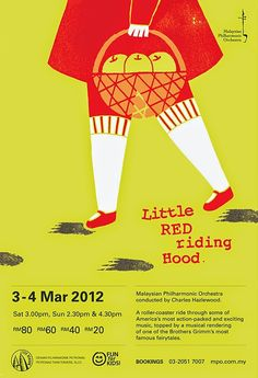 Little Red Riding Hood by Karen Ho XiaoZhuang