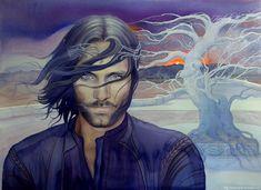 White Tree by kimberly80.deviantart.com on @DeviantArt  #Aragorn #LOTR #Hobbit #Tolkien