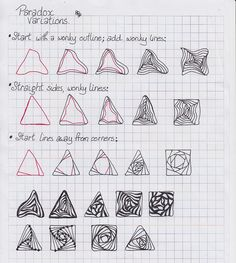 Paradox - variations