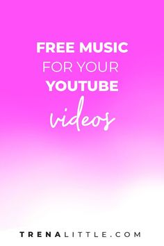 Have you been on the search to find free music for your YouTube videos?  Where can you find royalty-free music?  I\'ve got 3 great places for you to add free music to your videos! #youtubetips #videocontent