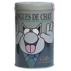 GALLER langues de chat au chocolat noir