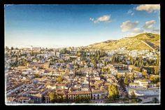 #Granada Granada, Cities, Andalucia, Paris Skyline, City Photo, Sunset, Places, Travel, Romantic Travel