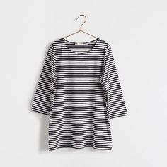 Koszulka w dwukolorowe paski - Odzież - Kobieta - Homewear & shoes | Zara Home Polska