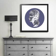 REWERS MIXGALLERY portrait,profile,face,man,wallart,canvas,canvas print,home decor, wall,framed prints,framed canvas,artwork,art