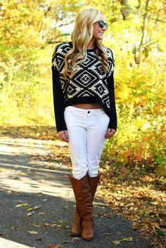 Aztec Sweater - UOIONLINE.COM