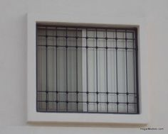 even just plain glass is beautiful in stained glass techniques. Home Window Grill Design, Iron Window Grill, Window Grill Design Modern, Balcony Grill Design, Home Room Design, Window Design, House Design, Door Gate Design, Main Door Design