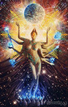 Transcendência em Behance