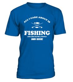 # Fishing and like maybe 3 people and beer .   ** 30 Day 100% Satisfaction Guaranteed ** Safe &Secure Checkout** VERY High Quality Tees Order 2 or more and save on shipping. Perfect gift for any occasion.