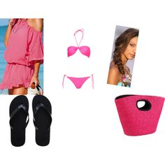 """""""My Hawaiian Outfit"""" by me on Polyvore"""