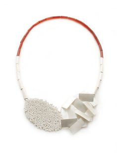 Beth Legg, Carnelian Surfaces Necklace, 2014